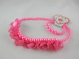 Набор детский (колье +браслет) (12 штук в упаковке)
