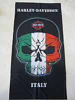 Летний бафф, buff, бесшовный шарф, повязка (#241)