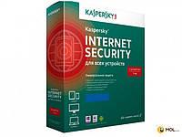 KASPERSKY LAB Програмне забезпечення Kaspersky Internet Security 2016 на 12 мс. на 2 ПК Base BOX