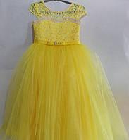 Платье нарядное для девочки 6-9 лет