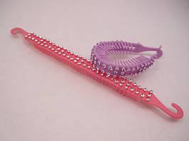 Заколка для волос (застёжка - крючки) (12 штук в упаковке)