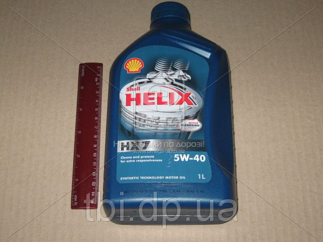 Масло моторное SHELL Helix HX7 SAE 5W-40 SM/CF (Канистра 1л)