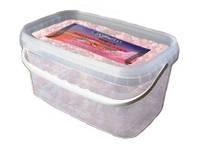 Натуральная соль залива Сивашс бета-каротином 12 кг (Розовая)