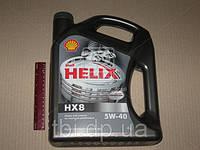 Масло моторное SHELL Helix HX8 SAE 5W-40 SM/CF (Канистра 4л)