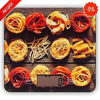 Весы кухонные электронные Magio MG-690, 5 кг, стекло, спагетти