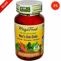 Мультивитамины одна таблетка в день для мужчин  60 шт (MegaFood)