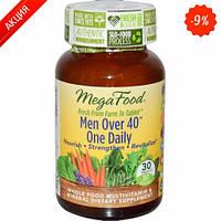 Мультивитамины одна таблетка в день для мужчин после 40 MegaFood 30 шт