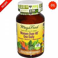 Мультивитамины одна таблетка в день для женщин после 40  60 шт (MegaFood)