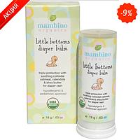 Бальзам для детских ягодиц Mambino Organic Little Bottoms Diaper Balm 18 г