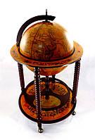 Глобус-бар 45043R цвет коричневый
