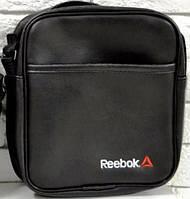 Мужская барсетка reebok большая, логотип Reebok белый  реплика, фото 1
