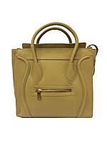 38ebdf7c9864 Женская сумка Celine 143 классическая искусственная кожа 30см х 29см х 15см копия  копия Бежевый