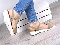 Босоножки женские Perfect беж, сандалии женские