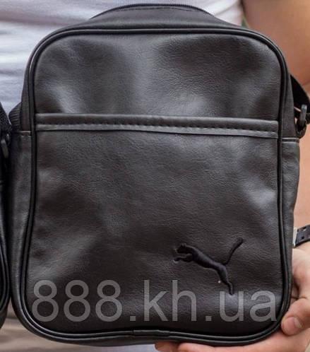 355036665221 Мужская барсетка PUMA малая, логотип черный реплика: продажа, цена в  Харькове. мужские сумки и барсетки от