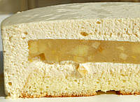 Торт Яблоко-карамель