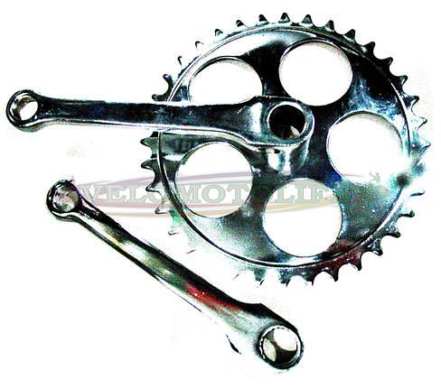 Шатун система на детский велосипед, фото 2