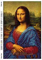 """Схема под вышивку бисером """"Мона Лиза"""""""