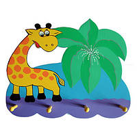 Детская вешалка «Джунгли», Funny Animals