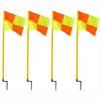 Флаги угловые комплект 4 шт