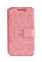 Чехол-книжка Florence Around the world для Meizu M2 Note 5 цветов
