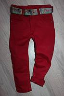 Коттоновые брюки для мальчика, цвет Бордо размеры от 5 до 8 лет Class 1045