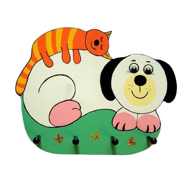 Детская вешалка «Тихий час», Funny Animals