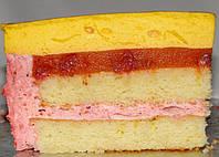 Торт Клубнично-манговый мусс