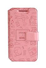 Чехол-книжка Florence Around the world для Samsung A700 Galaxy A7 5 цветов