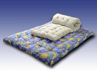 Домашній текстиль: ковдри, подушки, ватні матраци, постільна білизна
