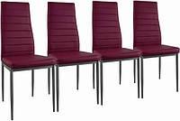 4 Кухонные стулья Dankor 4 стула мебель