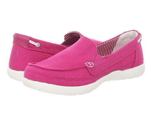 Женские crocs Women's Walu Canvas Loafer