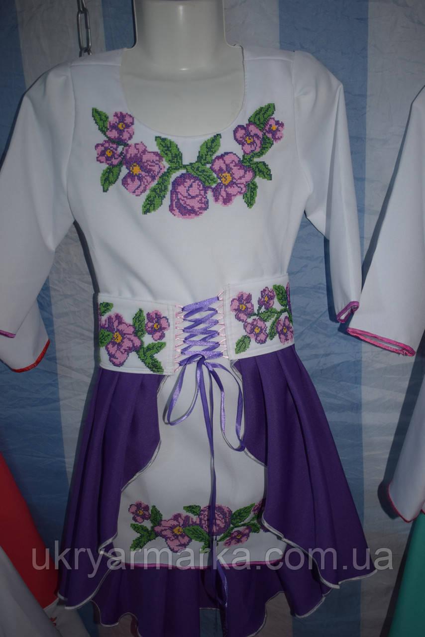 """Комплект для дівчинки """"Руслана"""" фіолетовий"""