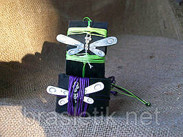 Стильные кожаные браслеты СТРЕКОЗА для двоих на руку, ручная работа. Цена указана за пару.