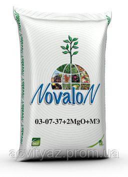 Водорастворимое комплексное удобрение Новалон 03-07-37+2MgO+МE 25 кг