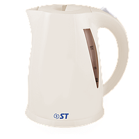 Чайник електричний ST 45-220-20GF_Беж