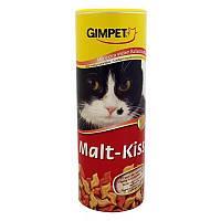 Витамины Gimcat Malt-kiss для кошек поцелуйчики для выведения шерсти, 600 шт, фото 1