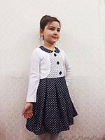 """Платье с болеро для девочек """" Кэт """", размеры от 92 - 134 см"""