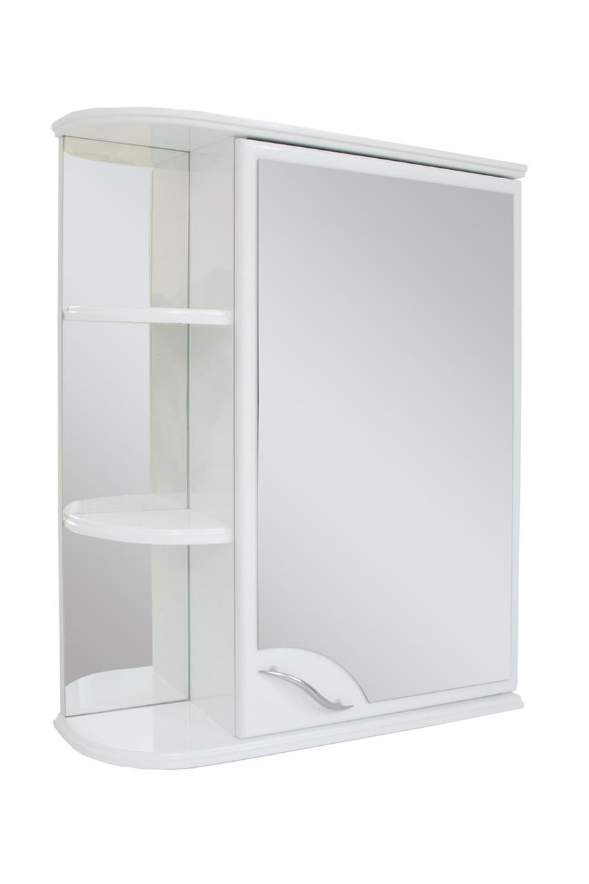 Зеркальный шкаф для ванной комнаты Базис 50-01  правый ПИК