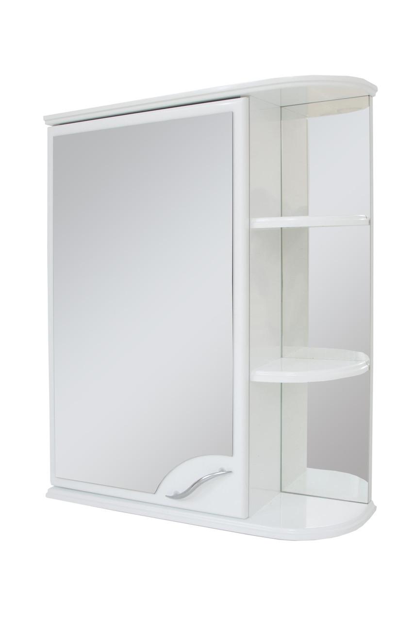 Зеркальный шкаф для ванной комнаты Базис 50-01 левый ПИК