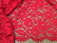 Ткань гипюр красный ,гипюр белый купить  Украина,ткани АРТ ТЕКСТИЛЬ