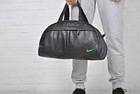 Спортивная сумка Nike логотип салатовый  реплика, фото 1