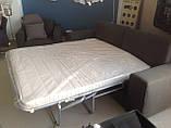 Раскладной коричневый диван MANHATTAN 250 см ALBERTA (Италия) бесплатная доставка, фото 5
