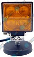 Доп LED Фары BELAUTO BOL0403QLA (точечный amber) 12W
