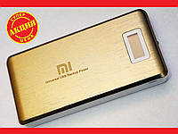 Power Bank Mi 28800 mah LCD 3 USB Портативная зарядка Золотистый, фото 1