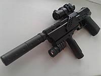 Пистолет пневматический SP3866 - A1 (Тактический обвес)