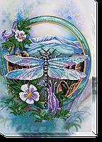 Набор для вышивания бисером на художественном холсте Акварели лета-3