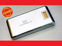 Power Bank Mi 28800 mah LCD 3 USB Портативная зарядка Серый, фото 1