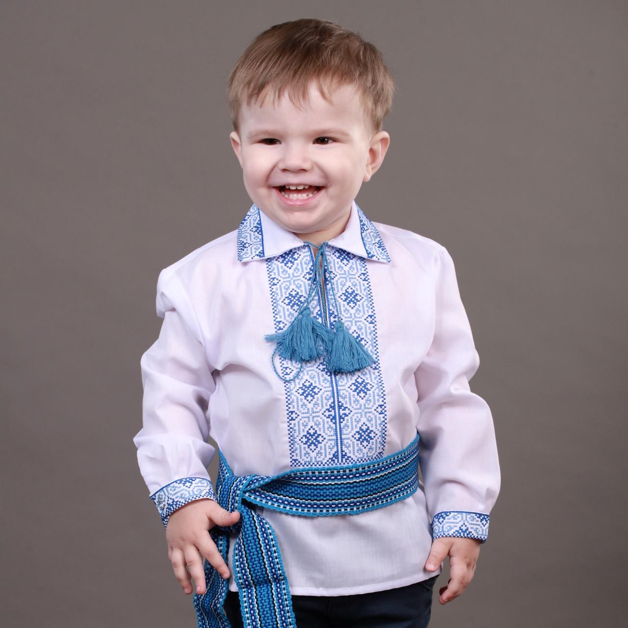 Українська вишиванка для хлопчика на ріст 86-110см 535158aadb58b