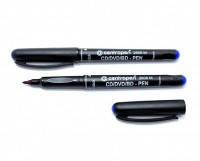 Маркер perman Centropen CD-pen 2606/4606; 1мм черный