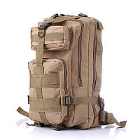 Тактический Штурмовой Военный Рюкзак 35-40л 5 цвета Песок